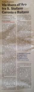 Via libera all'Aro tra S. Stefano - Caronia e Reitano