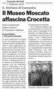 Il Museo Moscato affascina Crocetta
