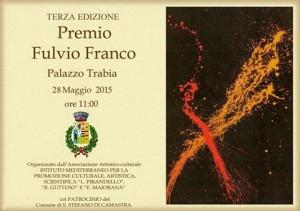 Terza Edizione - Premio Franco Fulvio