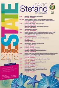 Programma Estate Stefanese Luglio 2015