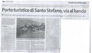 Porto turistico si Santo Stefano, via al bando