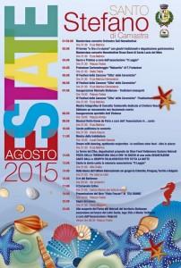 Programma Estate Stefanese Agosto 2015