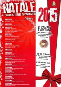Programma manifestazioni Natalizie 2015