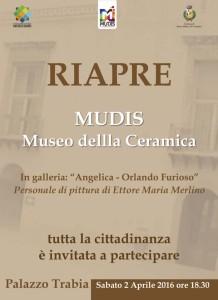 Riapertura del Museo della Ceramica di Santo Stefano di Camastra MUDIS