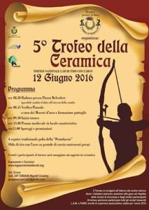 5° Trofeo della Ceramica 12 Giugno 2016