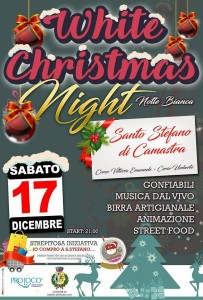 White Christmas Night - Notte Bianca