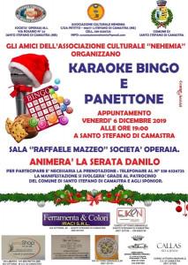 Karaoke Bingo e Panettone